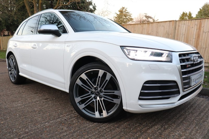 used Audi SQ5 SQ5 TFSI QUATTRO in surrey