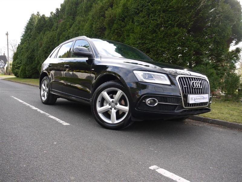 used Audi Q5 TFSI QUATTRO S LINE S/S in surrey
