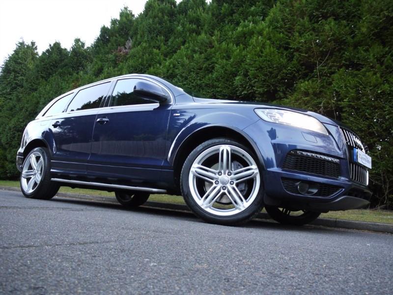 used Audi Q7 TDI QUATTRO S LINE PLUS in surrey