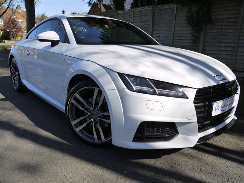 used Audi TT TFSI S LINE in surrey