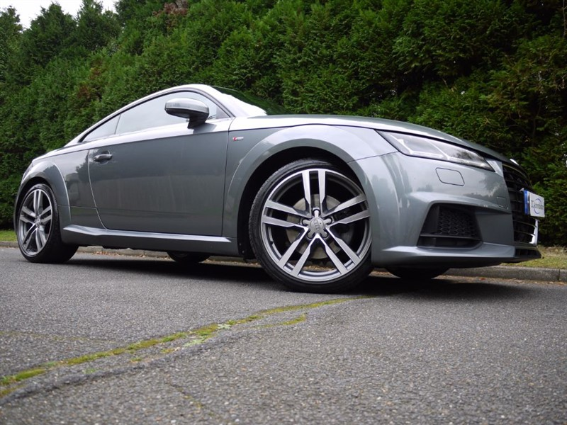 used Audi TT TDI ULTRA S LINE in surrey