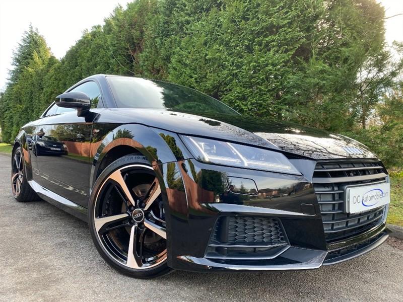 used Audi TT TFSI S LINE BLACK EDITION in surrey