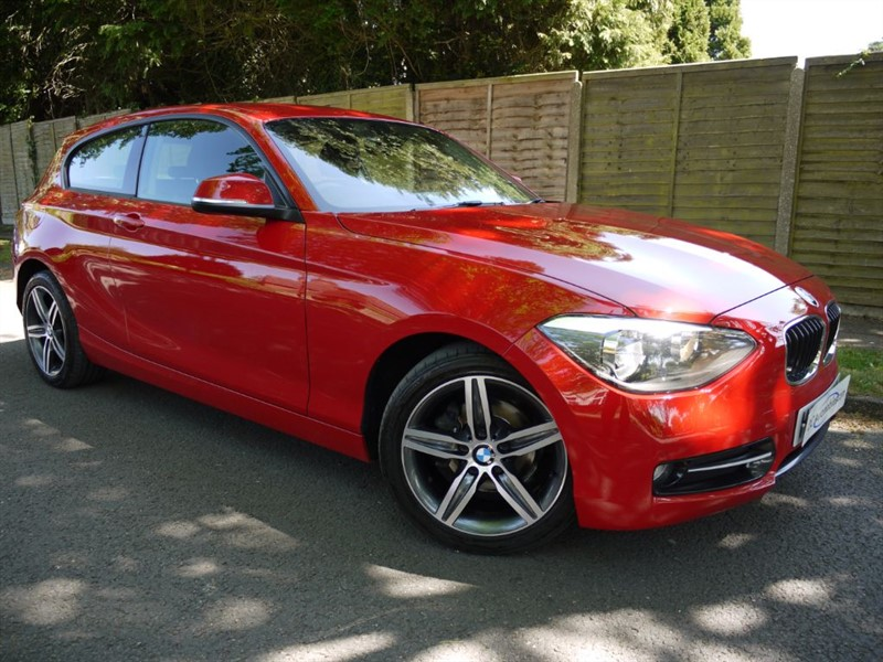 used BMW 118d SPORT in surrey
