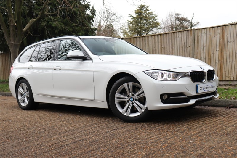 used BMW 320d SPORT TOURING in surrey