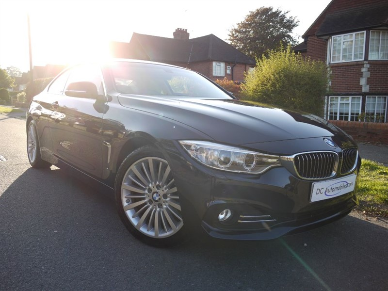 used BMW 430d LUXURY in surrey