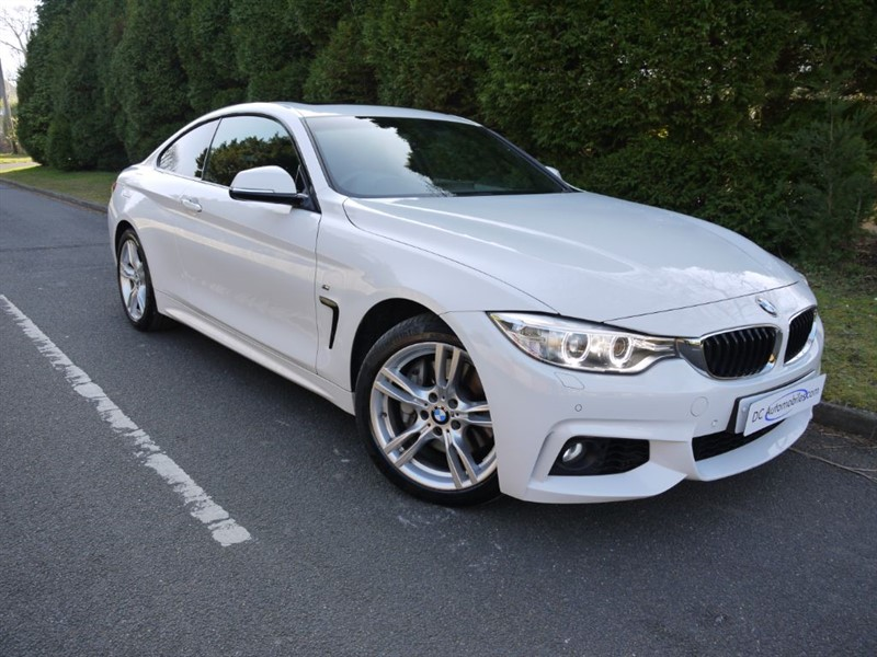 used BMW 435d XDRIVE M SPORT in surrey