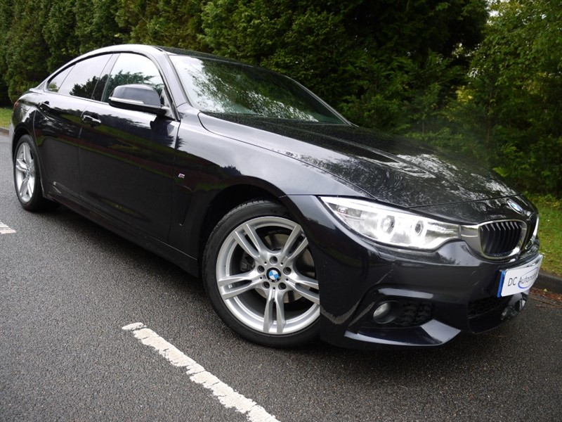 used BMW 420d M SPORT GRAN COUPE in surrey