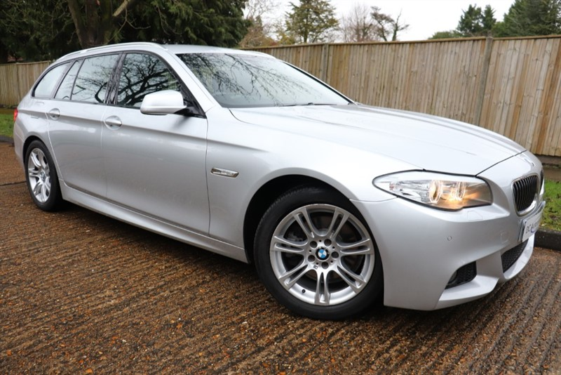 used BMW 520d M SPORT TOURING in surrey