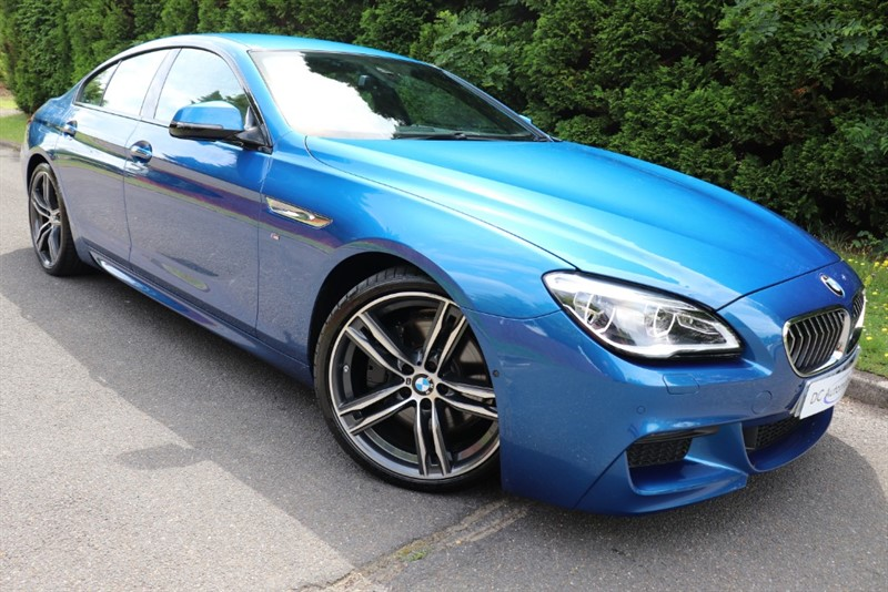 used BMW 640d M SPORT GRAN COUPE in surrey