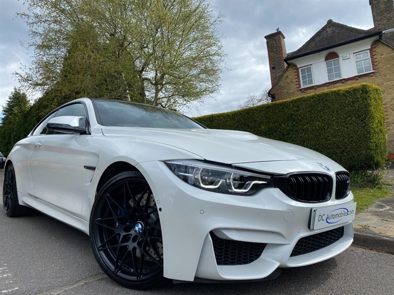 used BMW M4 3.0 BiTurbo Competition DCT in surrey