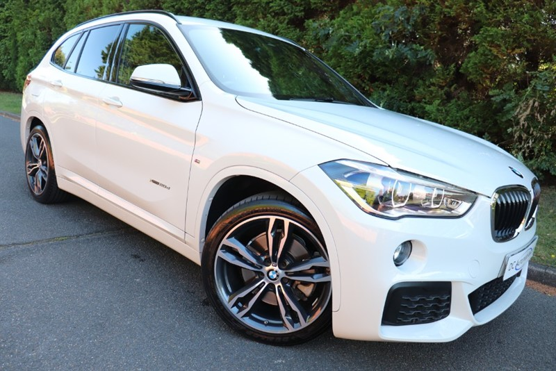 used BMW X1 XDRIVE20D M SPORT in surrey