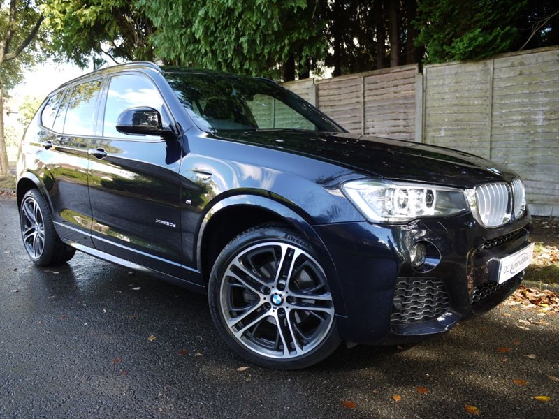 used BMW X3 XDRIVE30D M SPORT in surrey