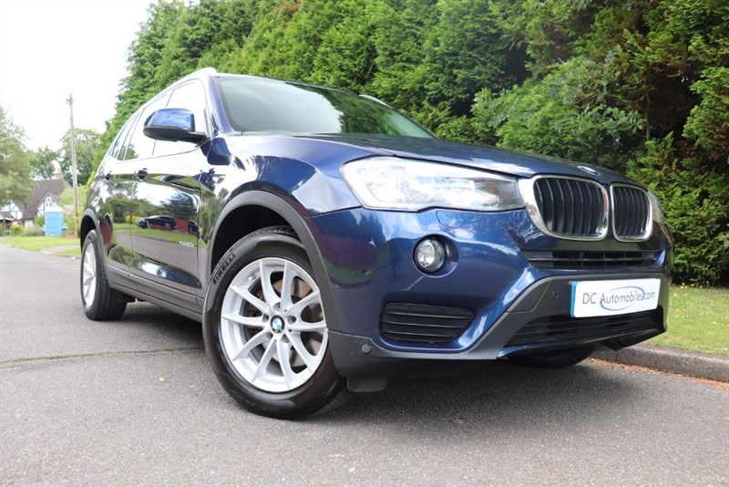 used BMW X3 XDRIVE20D SE in surrey