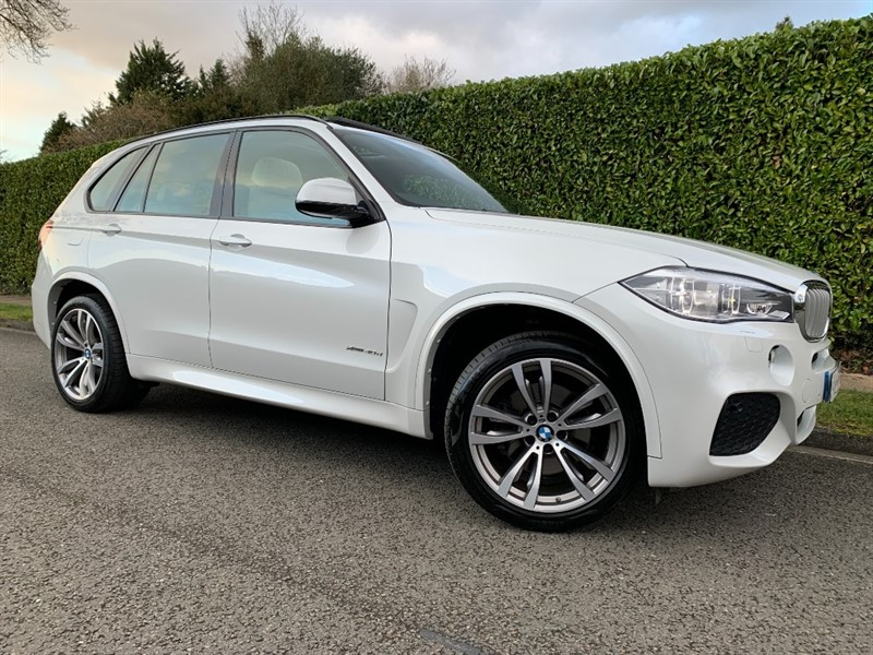 used BMW X5 XDRIVE40D M SPORT in surrey