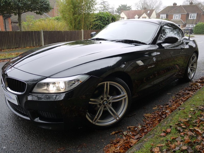 used BMW Z4 SDRIVE23I M SPORT ROADSTER in surrey
