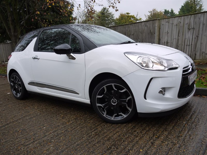used Citroen DS3 E-HDI DSTYLE PLUS in surrey