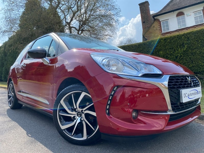 used DS 3 PURETECH CONNECTED CHIC in surrey