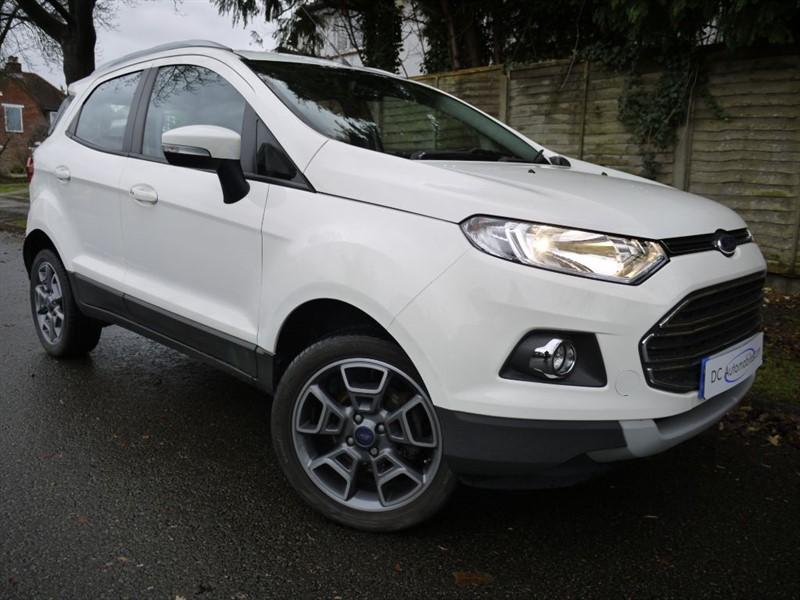 used Ford EcoSport TITANIUM TDCI in surrey