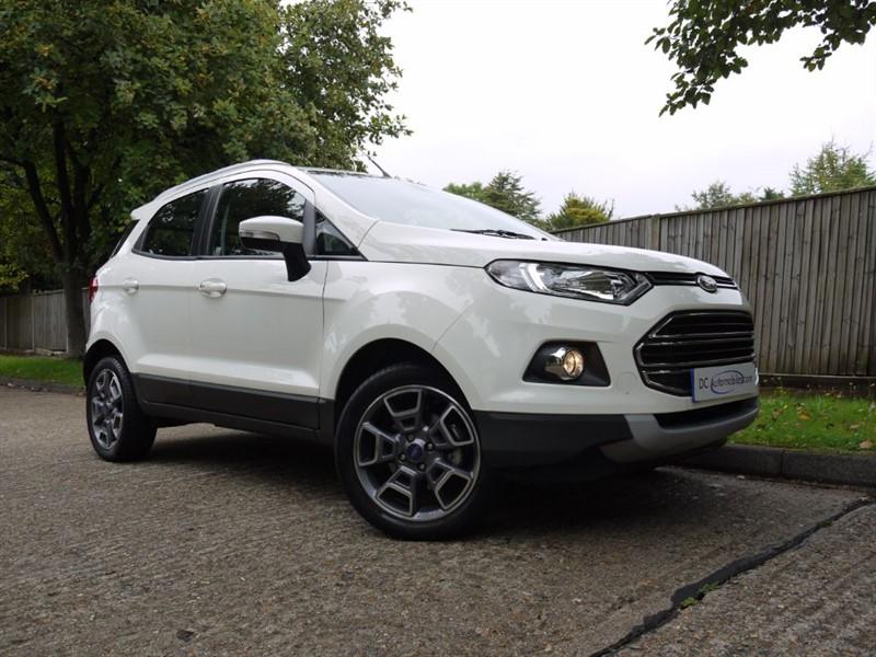 used Ford EcoSport TITANIUM in surrey