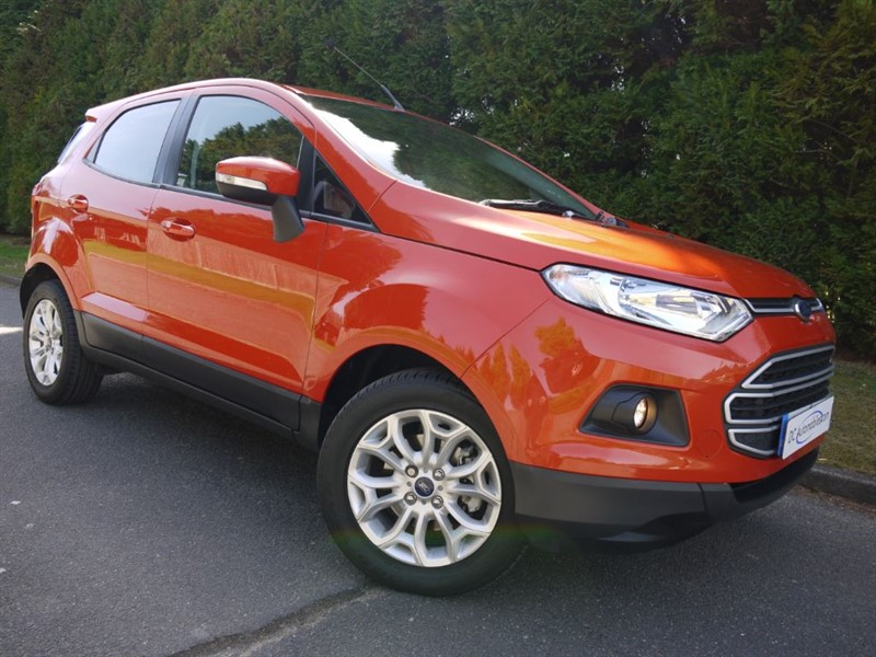 used Ford EcoSport ZETEC in surrey