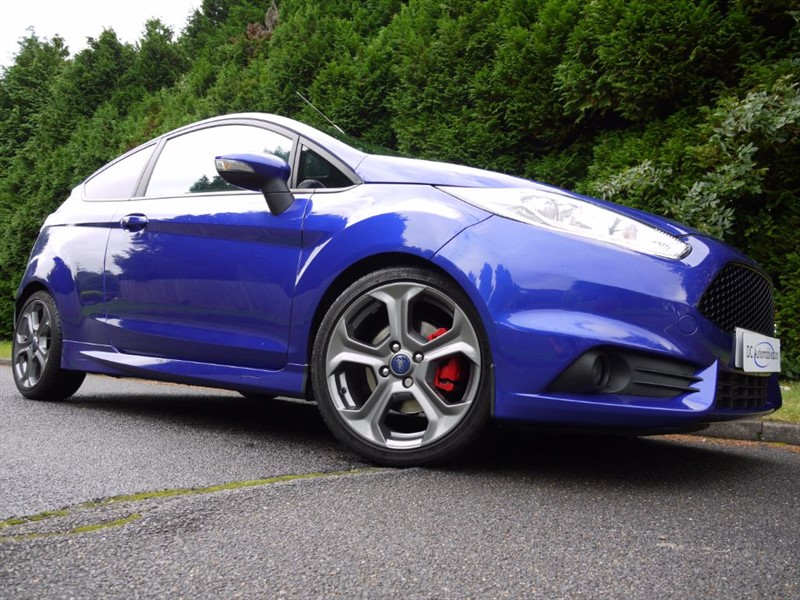 used Ford Fiesta ST-3 in surrey