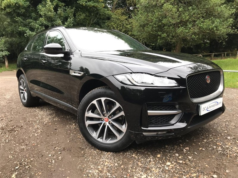 used Jaguar F-Pace R-SPORT AWD in surrey