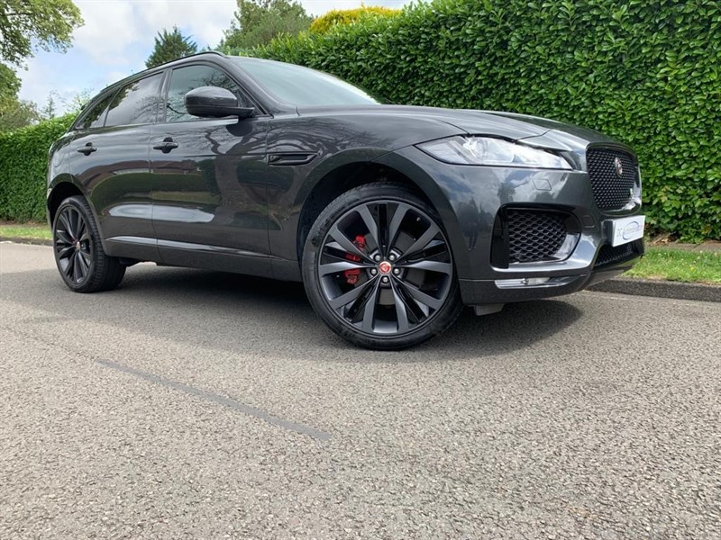 used Jaguar F-Pace S AWD in surrey
