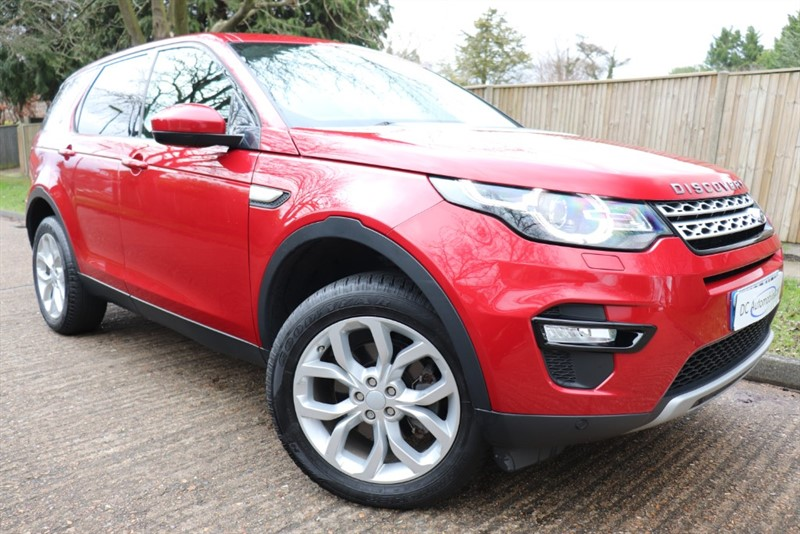 used Land Rover Discovery Sport TD4 HSE in surrey