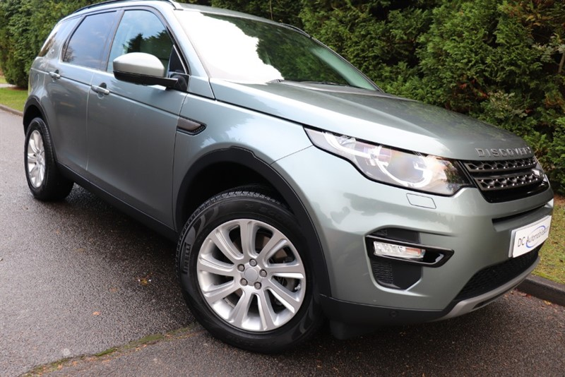 used Land Rover Discovery Sport SD4 SE TECH in surrey