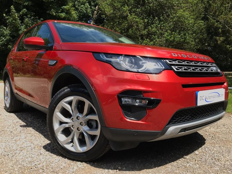 used Land Rover Discovery Sport SD4 HSE in surrey