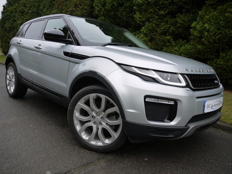 used Land Rover Range Rover Evoque TD4 SE TECH in surrey