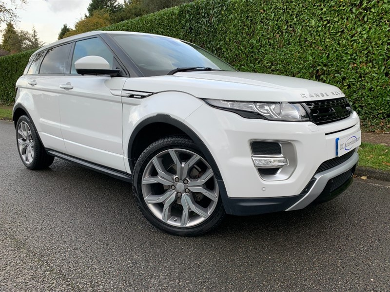 used Land Rover Range Rover Evoque SD4 AUTOBIOGRAPHY in surrey