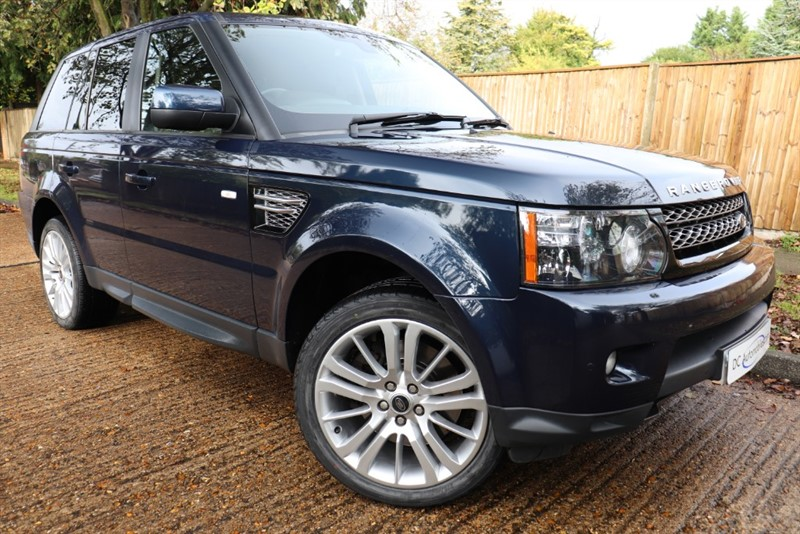 used Land Rover Range Rover Sport SDV6 HSE in surrey