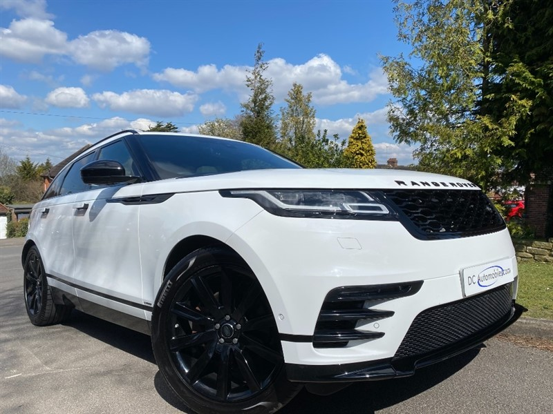 used Land Rover Range Rover Velar R-DYNAMIC HSE in surrey