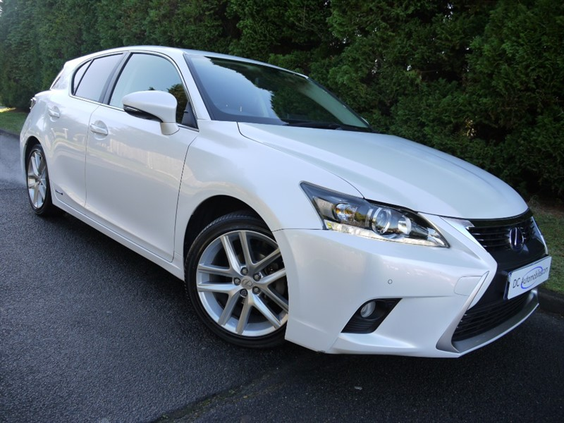 used Lexus CT 200h 200H ADVANCE in surrey