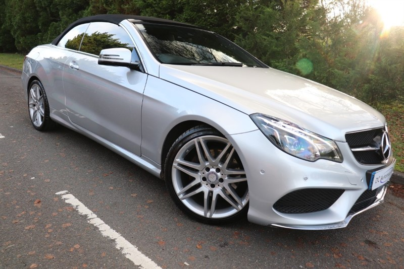 used Mercedes E350 E  D AMG LINE EDITION in surrey