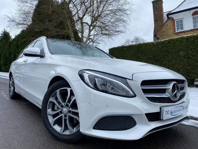used Mercedes C200 SPORT PREMIUM PLUS in surrey