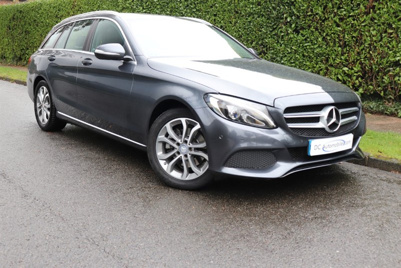 used Mercedes C220 BLUETEC SPORT in surrey