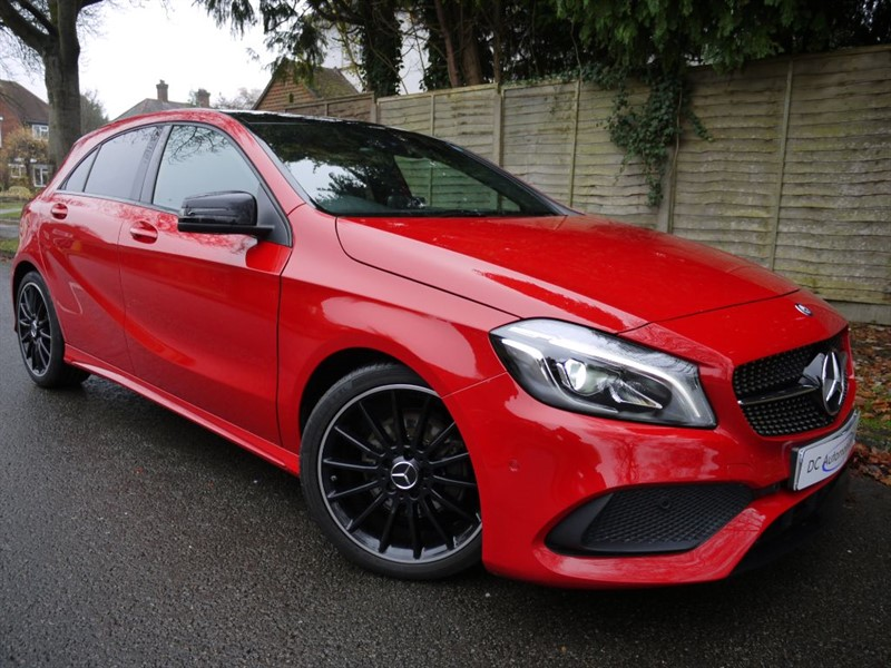used Mercedes A200 A 200 D AMG LINE PREMIUM in surrey