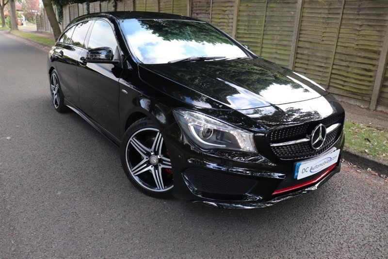used Mercedes CLA250 CLA250 4MATIC ENGINEERED BY AMG in surrey