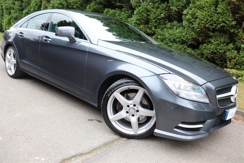 used Mercedes CLS250 CDI CLS250 BlueEFFICIENCY AMG Sport 7G-Tronic Plus (s/s) 4dr in surrey