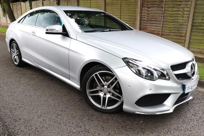 used Mercedes E220 BLUETEC AMG LINE in surrey