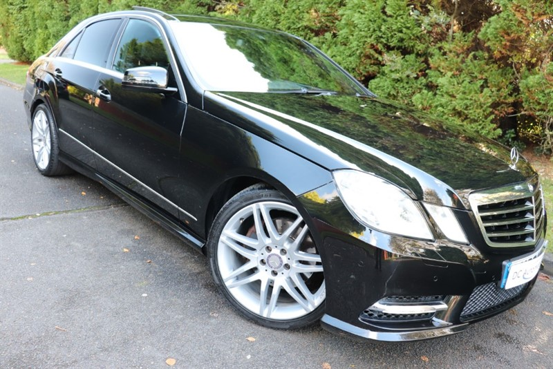 used Mercedes E250 CGI BLUEEFFICIENCY SPORT in surrey