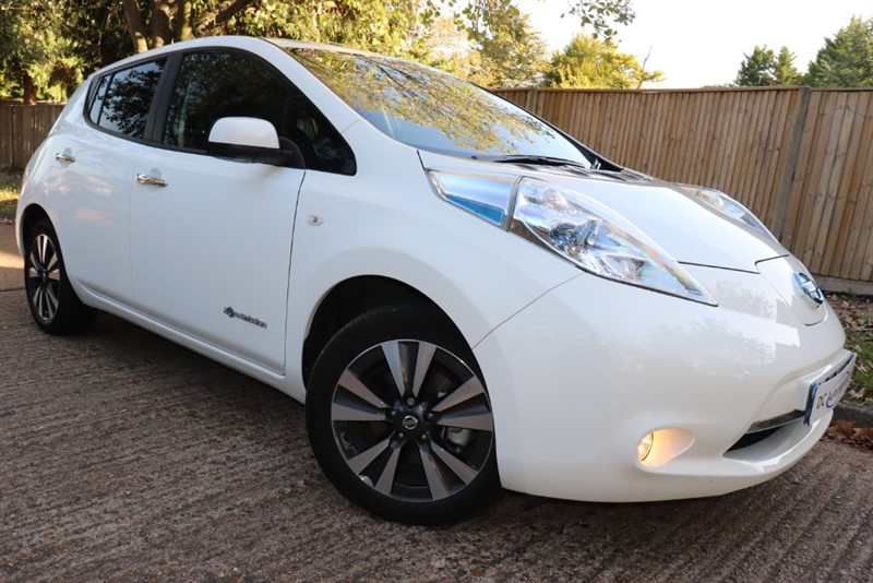 used Nissan Leaf TEKNA in surrey