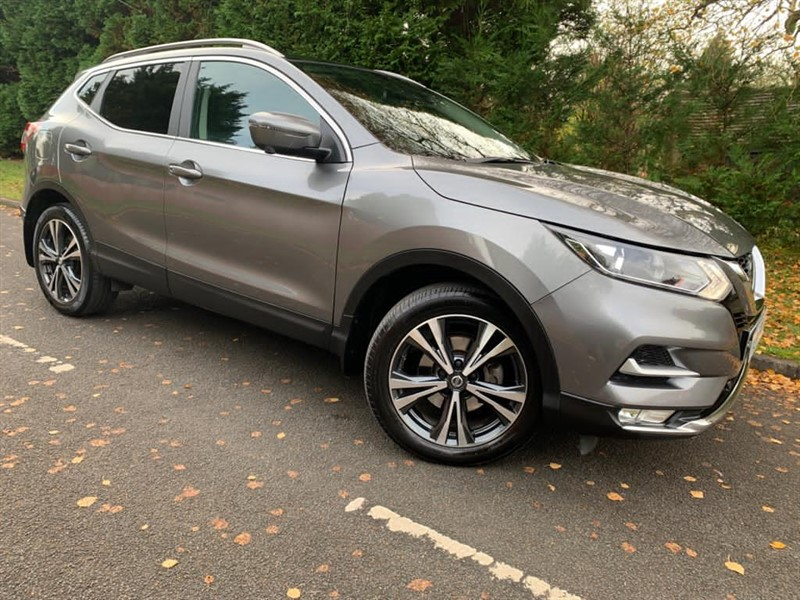 used Nissan Qashqai N-CONNECTA DCI in surrey
