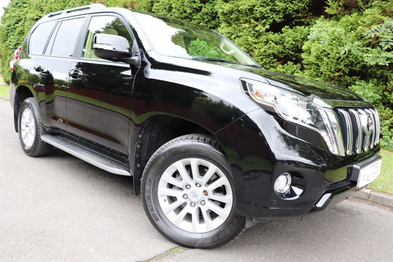 used Toyota Land Cruiser D-4D INVINCIBLE in surrey