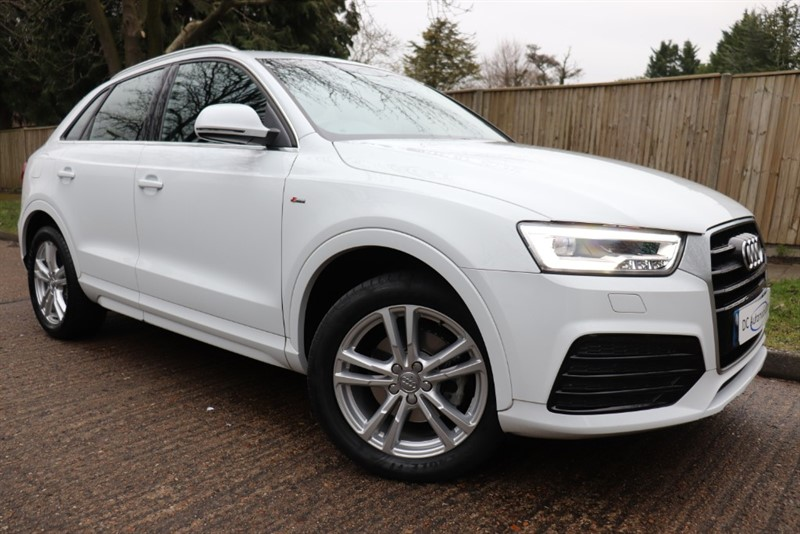 used Audi Q3 S Line TFSI in surrey