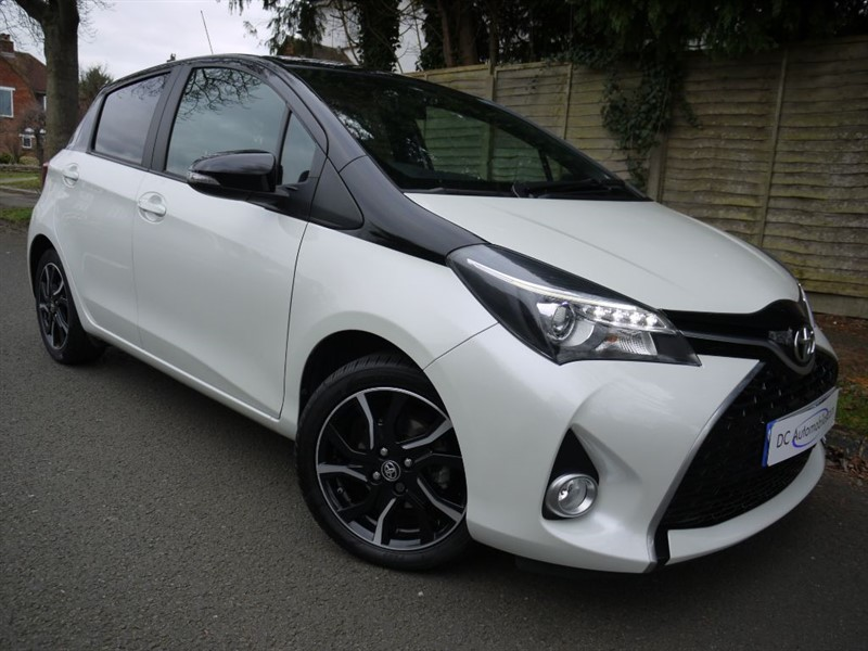 used Toyota Yaris VVT-I DESIGN in surrey