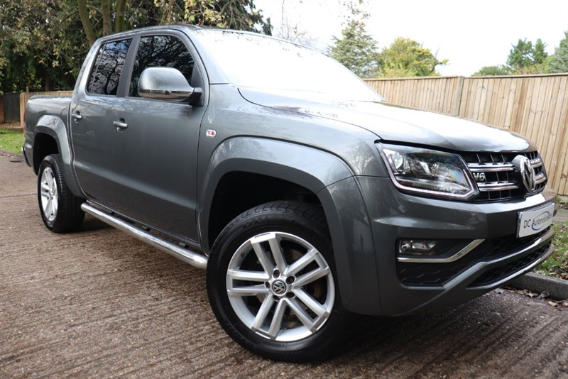 used VW Amarok DC V6 TDI HIGHLINE 4MOTION in surrey