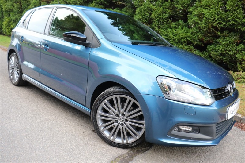 used VW Polo BLUEGT DSG in surrey